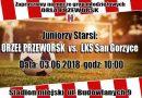 Juniorzy Starsi: Orzeł Przeworsk – San Gorzyce