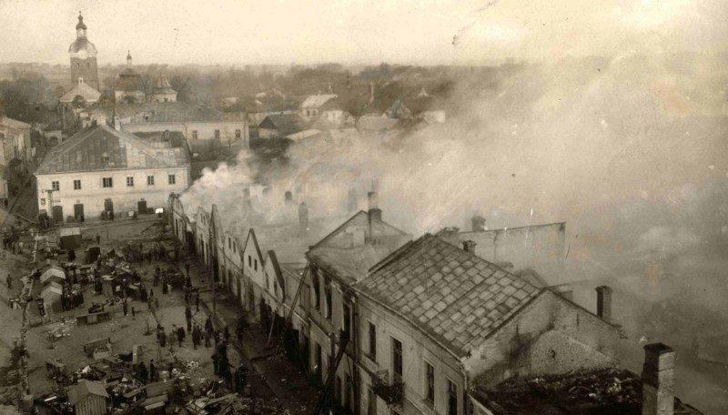 25.04.1930. Wielki pożar Przeworska