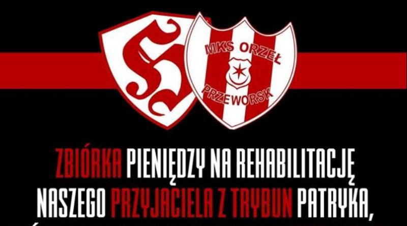Zbiórka dla kibica Orła Przeworsk