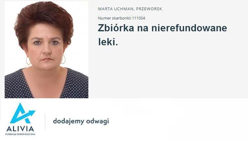 Zbiórka na nierefundowane leki dla nauczycielki z Przeworska