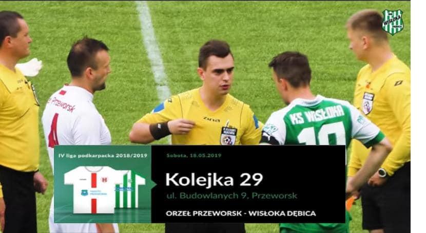 Skrót meczu: Orzeł Przeworsk – Wisłoka Dębica