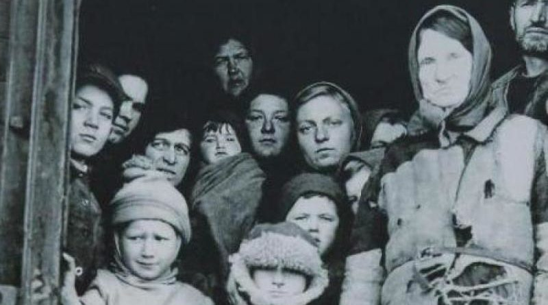pierwsze deportacje Polaków
