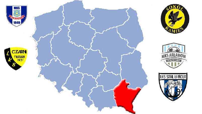 Beniaminkowie 4 ligi podkarpackiej sezonu 2021/22