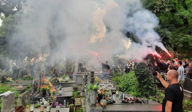 """Ostatnie pożegnanie Ś.P. Marcina """"Skórki"""" Skóry"""